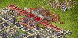 атака на замок