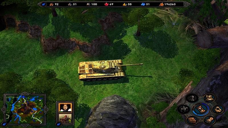 танк в героях