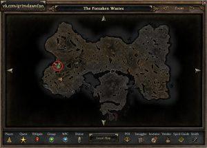 метка на карте