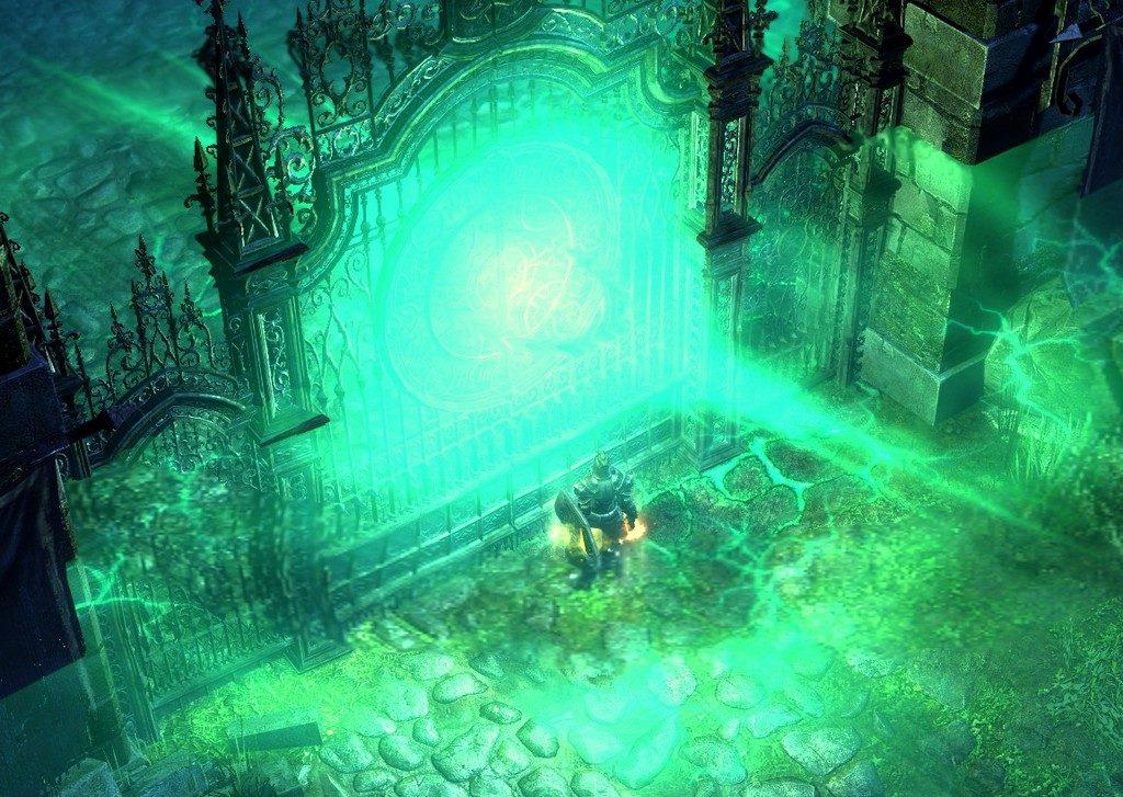 зеленые ворота